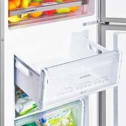 Холодильник с морозильником Siemens KG36VXL20R серебристый