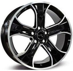 Автомобильный диск Литой LegeArtis LR17 9,5x20 5/120 ET 53 DIA 72,6 BKF