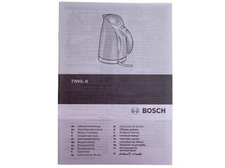 Электрочайник Bosch TWK 6801 серебристый