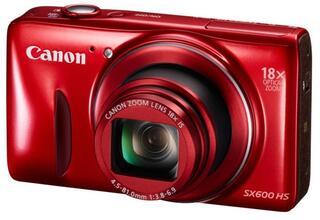 Компактная камера Canon PowerShot SX600 HS Red