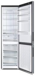 Холодильник с морозильником Haier C2FE637CXJ серебристый