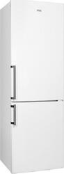 Холодильник с морозильником Candy CBNA 6185W белый
