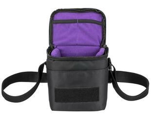 Сумка Riva 7301 черный, фиолетовый