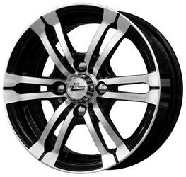 Автомобильный диск литой iFree Фриланс 5,5x13 4/98 ET 35 DIA 58,5 Блэк Джек