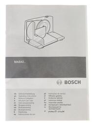 Ломтерезка Bosch MAS-4201N белый
