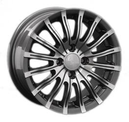 Автомобильный диск Литой LS 228 6x14 4/100 ET 40 DIA 73,1 BKF
