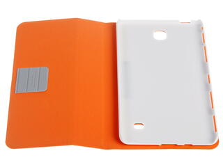 Чехол-книжка для планшета Samsung Galaxy Tab 4 оранжевый