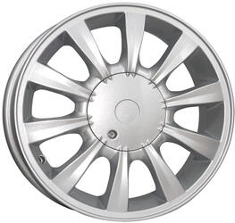 Автомобильный диск Литой K&K Соната 6x16 4/114,3 ET 46 DIA 67,1 Сильвер