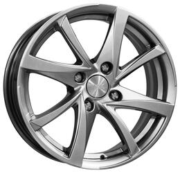 Автомобильный диск Литой K&K Игуана 6,5x16 4/100 ET 32 DIA 67,1 Блэк платинум