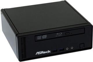 Компьютер ASRock ION 3D 152D/B Black Atom D525(1.8)/2Gb/320Gb/NV GT218(ION2)/DVD±RW/Wi-Fi/ ПДУ/Без ПО