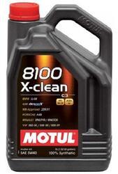 Моторное масло MOTUL 8100 X-clean 5W40 102870