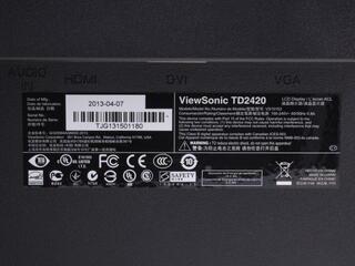 "23.6"" Монитор ViewSonic TD2420"
