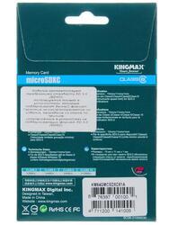 Карта памяти KingMax microSDXC 64 Гб