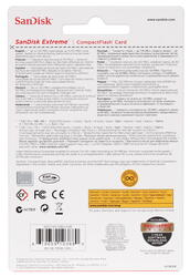 Карта памяти SanDisk SDCFXS-128G-X46 Compact Flash 128 Гб
