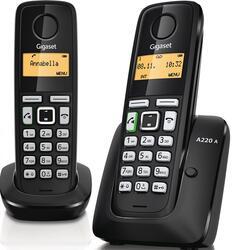 Телефон беспроводной (DECT) Siemens Gigaset A220 DUO
