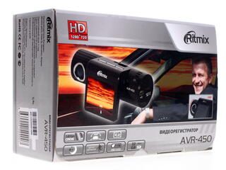 Видеорегистратор Ritmix AVR-450