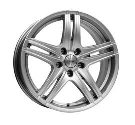 Автомобильный диск литой K&K Омаха 5,5x14 4/108 ET 16 DIA 65,1 Блэк платинум