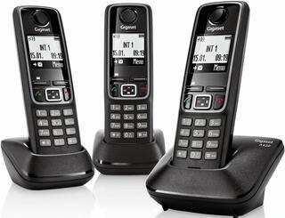 Телефон беспроводной (DECT) Siemens Gigaset A420 TRIO