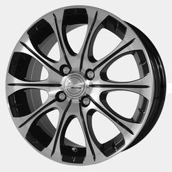 Автомобильный диск Литой Скад Ганимед 6x15 4/114,3 ET 45 DIA 67,1 алмаз-супер
