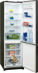 Холодильник с морозильником Daewoo Electronics FRL455 черный