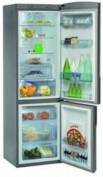Холодильник с морозильником Whirlpool WBV 3699 NFC IX серебристый