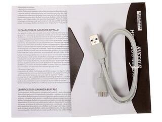 "Внешний HDD Buffalo 500GB MiniStation Slim  2.5"" USB 3.0 Silver"