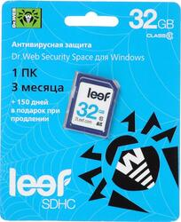 Карта памяти Leef Dr.Web SDHC 32 Гб