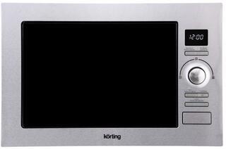 Встраиваемая микроволновая печь Korting KMI 925 CX серебристый