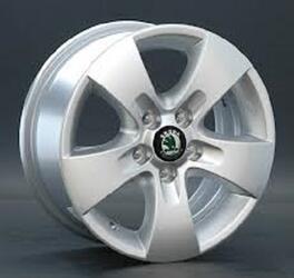 Автомобильный диск литой Replay SK10 6x14 5/100 ET 25 DIA 106,1 Sil