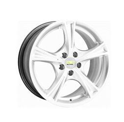 Автомобильный диск Литой Nitro Y232 6x15 4/98 ET 35 DIA 58,6 White