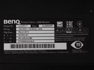 """21.5"""" Монитор BenQ GL2250HM"""