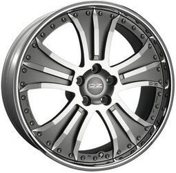 Автомобильный диск Литой OZ Racing Granturismo 8,5x20 5/114,3 ET 39,8 DIA 67,1 SilRenOpa.DC