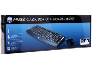 Клавиатура+мышь HP Wireless Classic LV290AA