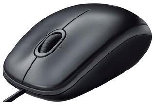 Мышь проводная Logitech B110