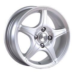 Автомобильный диск литой Скад Фортуна 5,5x14 4/100 ET 30 DIA 72,6 белый