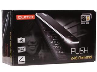 Сотовый телефон QUMO Push 246 Clamshell красный