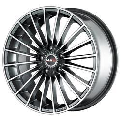 Автомобильный диск Литой MAK Volare 8x18 5/114,3 ET 20 DIA 76 Gun Metallic - Mirror Face