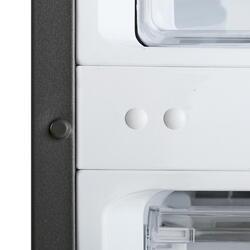 Холодильник с морозильником Samsung RB37J5200SA/WT серебристый