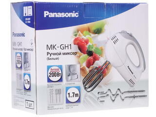 Миксер Panasonic MK-GH1WTQ белый