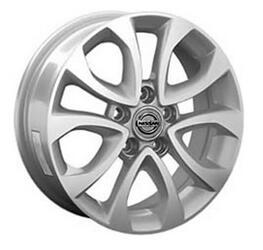 Автомобильный диск литой Replay NS102 6,5x16 5/114,3 ET 45 DIA 66,1 Sil