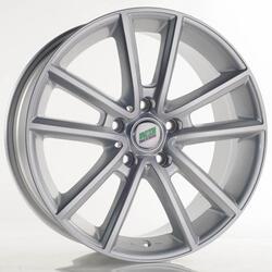 Автомобильный диск Литой Nitro Y9100 7,5x17 5/114,3 ET 41 DIA 67,1 Sil