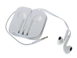 Гарнитура проводная Apple EarPods MD827ZM/A белый