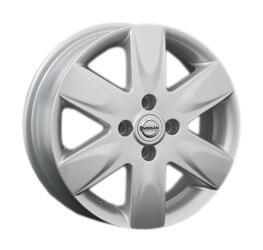 Автомобильный диск Литой Replay NS43 5,5x15 4/100 ET 50 DIA 60,1 Sil