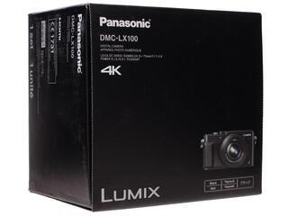 Компактная камера Panasonic Lumix LX100 Black черный