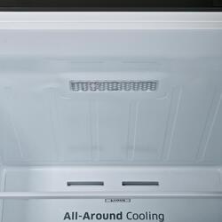 Холодильник с морозильником Samsung RB37J5250SS/WT серебристый