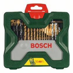 Набор сверл и насадок-бит Bosch X-Line Titanium 2607019600