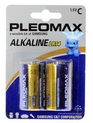 Батарейка Samsung Pleomax LR14-2BL
