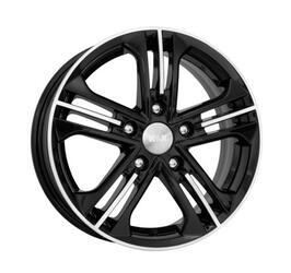 Автомобильный диск литой K&K Trinity 6x15 5/114,3 ET 46 DIA 67,1 Алмаз черный