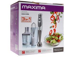 Блендер Maxima MHB-0329 серый