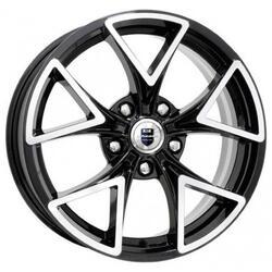 Автомобильный диск Литой K&K Сочи 6,5x16 5/114,3 ET 55 DIA 67,1 Алмаз черный